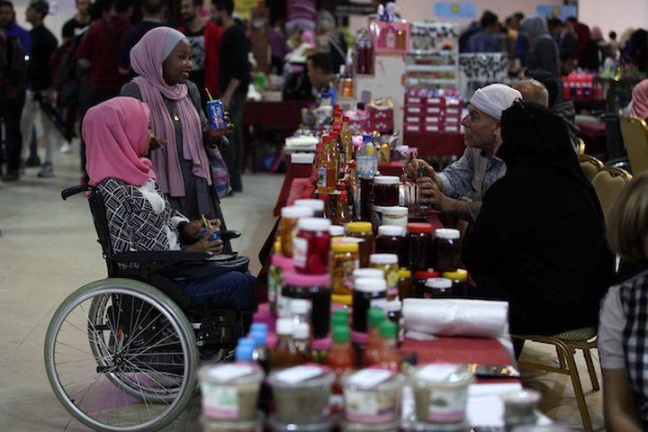 بازار الخيمة الرمضانية في غزة