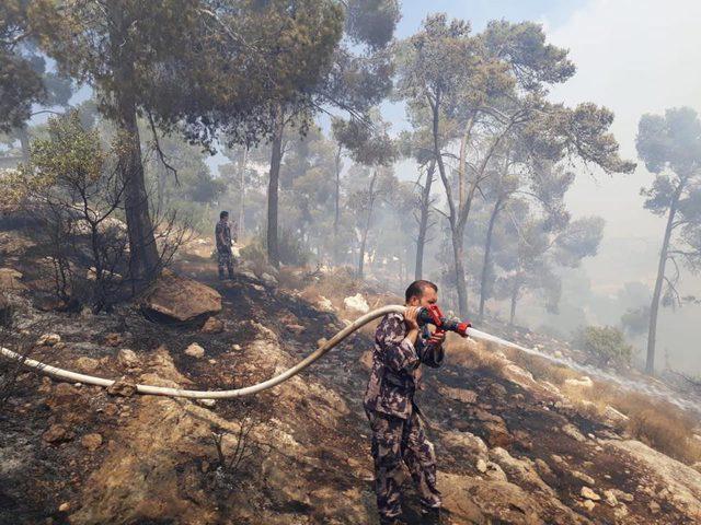 """""""إيد بإيد نحميها """"حملة للحد من الحرائق في محمية واد القف"""