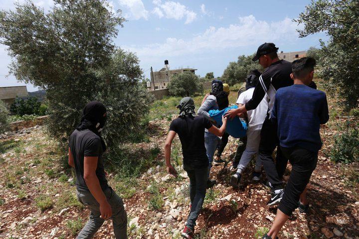إصابة 7 مواطنين بينهم طفل جراء قمع الاحتلال مسيرة كفر قدوم