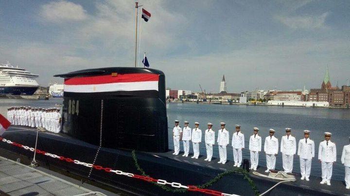 مصر تتسلم غواصة ألمانية جديدة