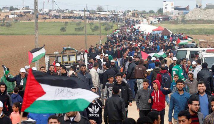 استعدادات في غزة اليوم لتظاهرات مسيرات العودة الأسبوعية