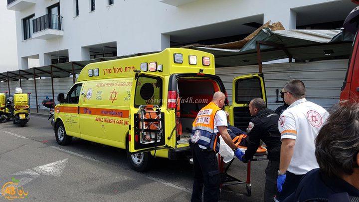 إصابات خطيرة جراء انفجار سيارة في حيفا