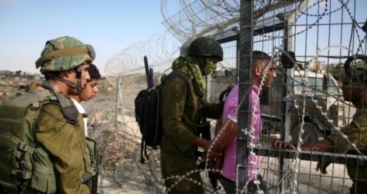 قوات الاحتلال تعتقل شابا بزعم اجتياز السياج الفاصل