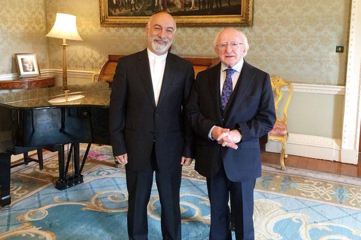 الرئيس الايرلندي: حل الدولتين هو الأساس لضمان الأمن والاستقرار