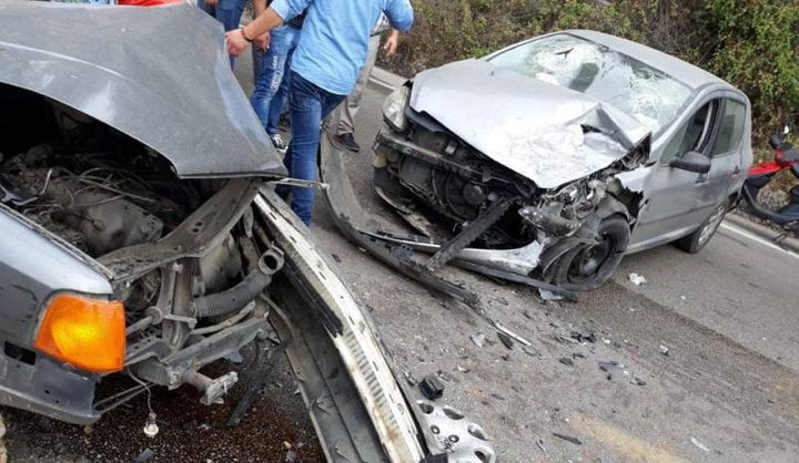 مصرع مواطن وإصابة 2 آخرين في حادث سير مروع قرب جنين