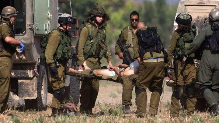 اصابة عنصرين من قوات الاحتلال برصاص قناص شرق غزة