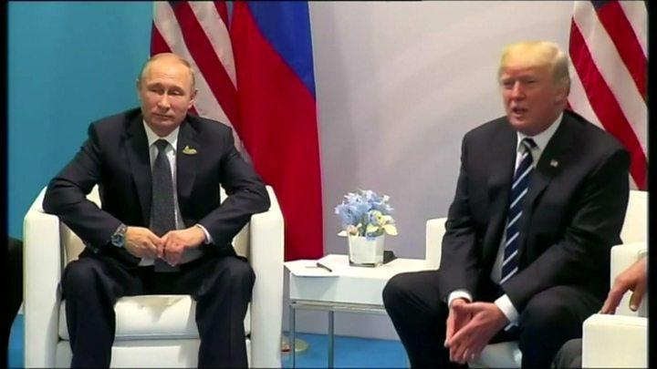 """ترامب وبوتين يبحثان """"اتفاقا نوويا جديدا"""""""