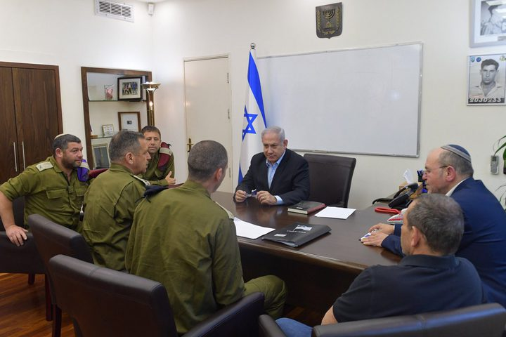 جلسة طارئة للكابينت غداً  لبحث التوتر  الأمني مع قطاع غزة