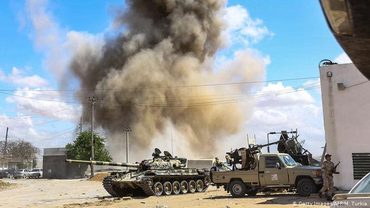 مقتل 8 جنود في هجوم على معسكر للجيش الليبي في سبها