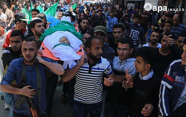 غزة تشيّع جثامين شهداء مسيرات العودة