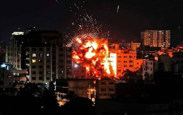 حصيلة استهدافات الاحتلال لقطاع غزة في اليوم الثاني للعدوان