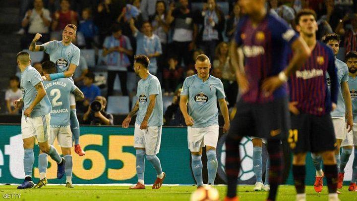 خسارة برشلونة بالصف الثاني أمام سيلتا فيغو