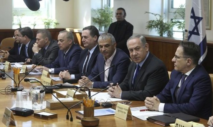 """""""الكابنيت"""" يصدر قراره بمواصلة الهجمات ضد قطاع غزة"""
