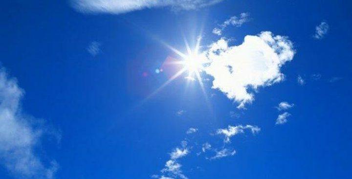 حالة الطقس: أجواء حارة وجافة والتحذير من التعرض لأشعة الشمس