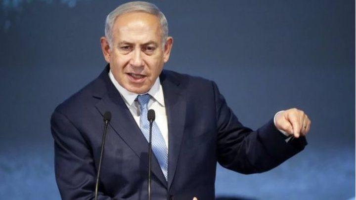 """نتنياهو: أعطيت تعليمات باستمرار توجيه """"الضربات"""" الى غزة"""