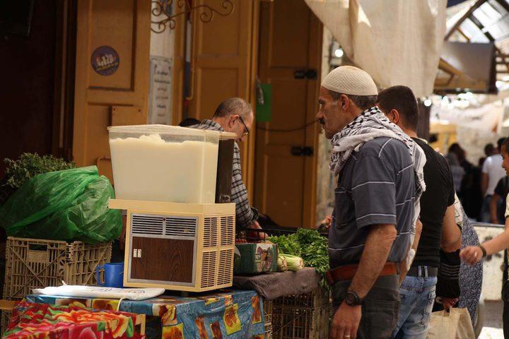 اجواء اليوم الأول من شهر رمضان المبارك في البلدة القديمة بالخليل ,يوم الإثنين 6\5\2019.