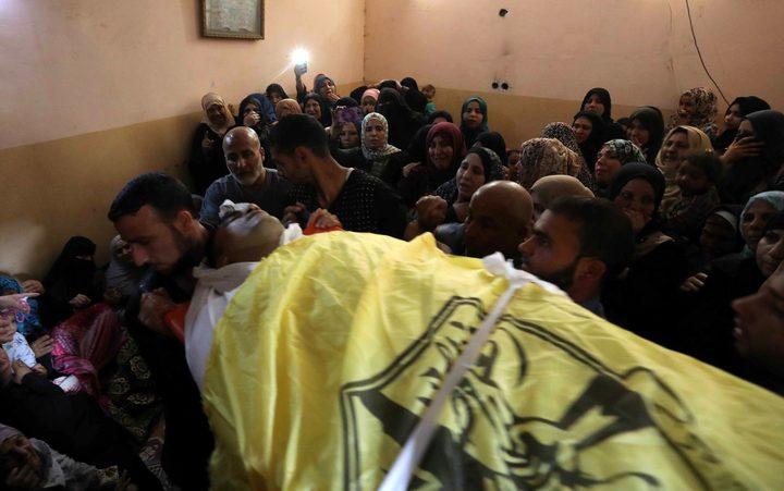 تشييع جثامين شهداء العدوان الإسرائيلي على غزة