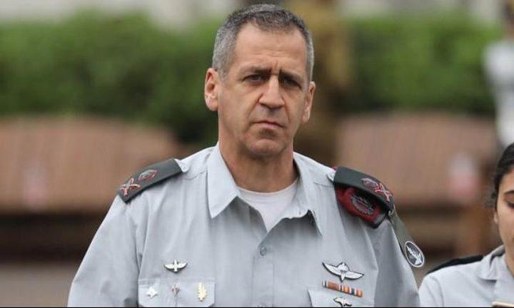 كوخافي يزعم بتدمير  مئات الأهداف في غزة