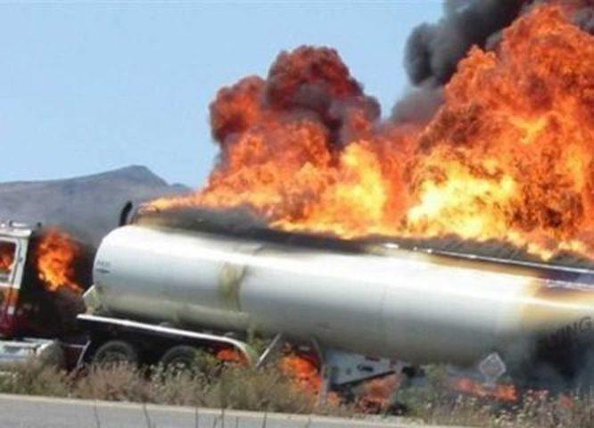 """55 قتيلا بانفجار """"شاحنة صهريج"""" في النيجر"""