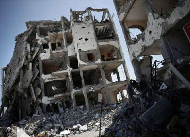 الأشغال : تدمير 830 وحدة سكنية  جراء العدوان على غزة