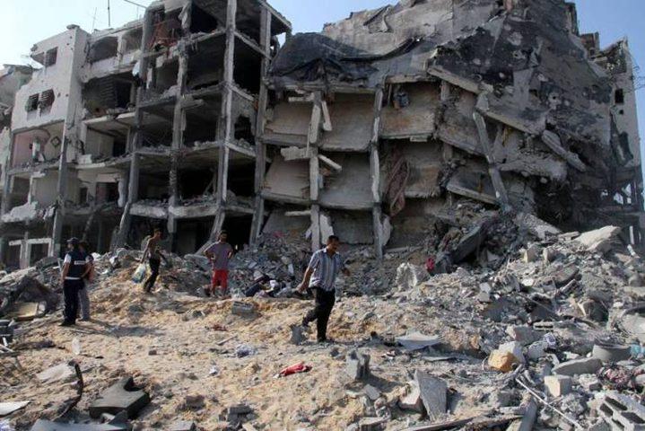 وزير الأشغال يكلف اتحاد المقاولين بحصر أضرار المباني المدمرة بغزة