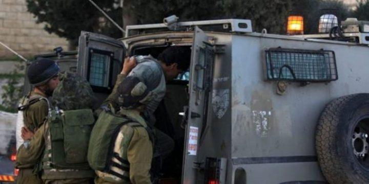 قوات الاحتلال تعتقل أسيرا محررا جنوب جنين