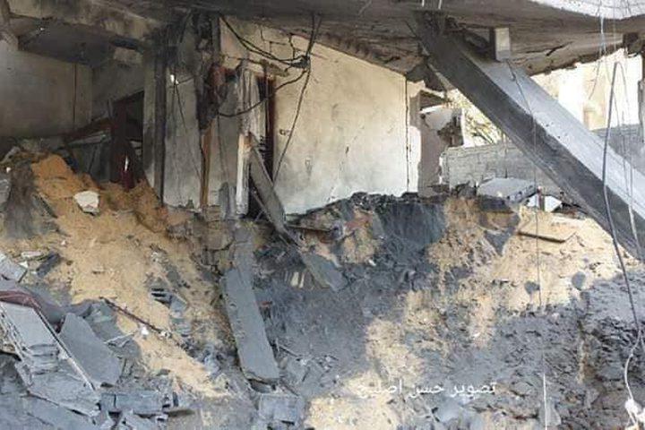 خلال عدوان الاحتلال على قطاع غزة منذ السبت جرى قصف وتدمير ١٨ بناية ومنزل بالكامل واستهداف ١٠ منازل أخرى ومحيطها بالصواريخ.
