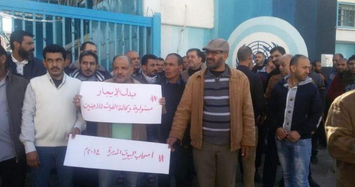 """""""الأونروا"""" تصدر بياناً توضيحياً حول المعتصمين في عيادة الصفطاوي"""