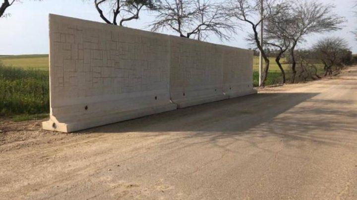 """جدار إسرائيلي على حدود غزة بهدف التصدي لـ""""لكورنيت"""""""