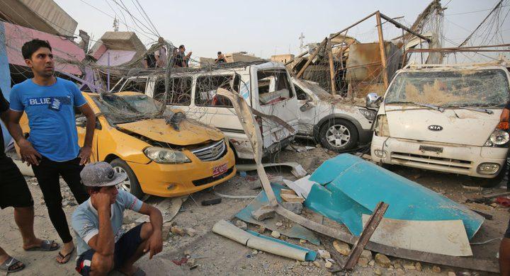 قتلى وجرحى في اعتداء إرهابي شمالي العاصمة بغداد