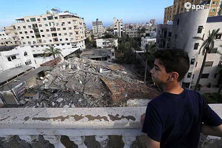 أهالي الشهداء بغزة يوجهون رسالة لفنانة أمريكية