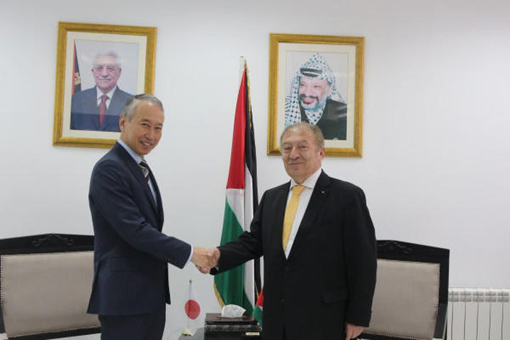 العسيلي والسفير الياباني يتفقان على دعم مشاريع تنموية وانجاز
