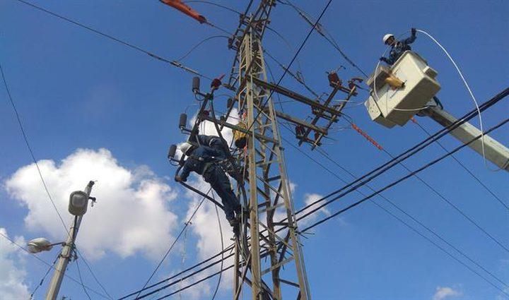 كهرباء غزة تعلن عن عودة التيار الكهربائي لمدينة غزة