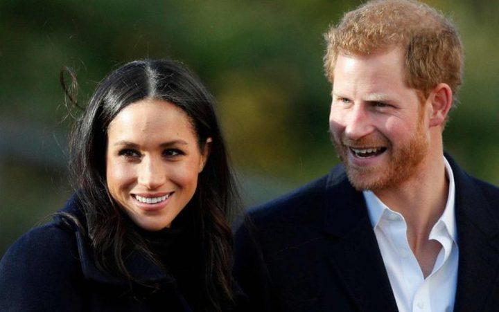 إعلان اسم المولود الملكي للأمير هاري وميغان ماركل