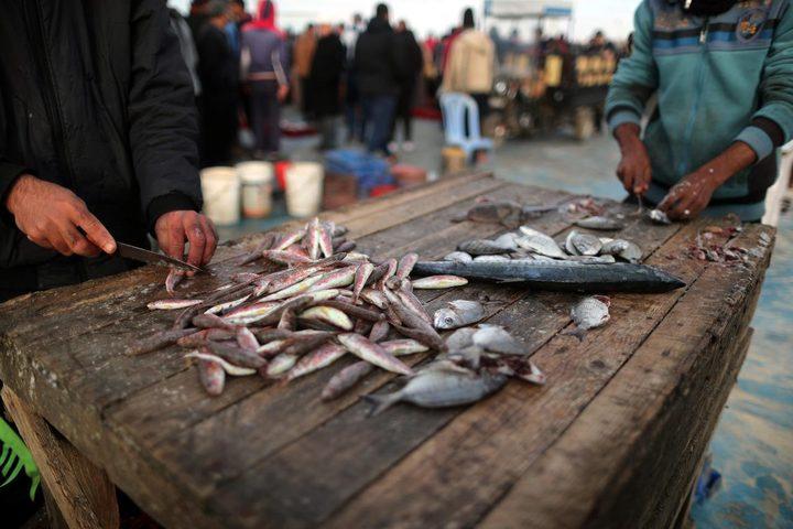 """الاحتلال يحرم الغزيين من """"وجبة سمك طازه """" في رمضان"""