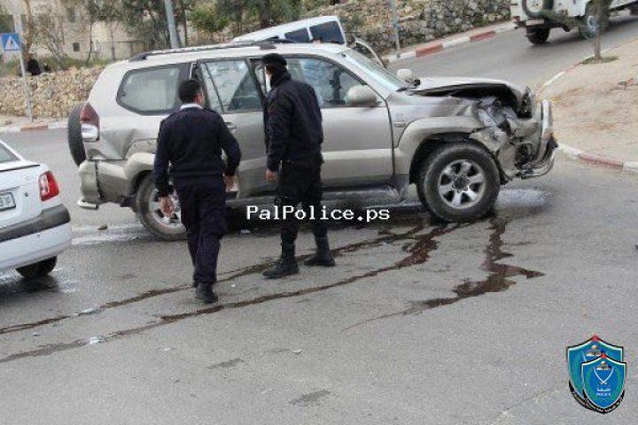 5 وفيات في 259 حادث سير خلال اسبوع
