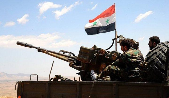 """الجيش السوري يدمر مقرات لإرهابيي """"النصرة"""" بريف إدلب الجنوبي"""