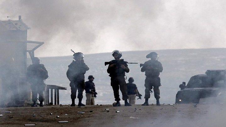 اصابة 3 شبان بمواجهات مع الاحتلال في كفر قدوم شرق قلقيلية