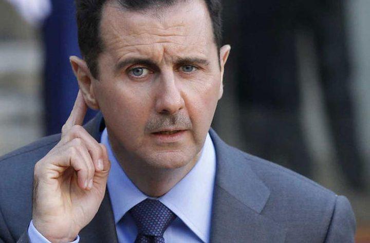 بشار الأسد ..في فلسطين...؟!!