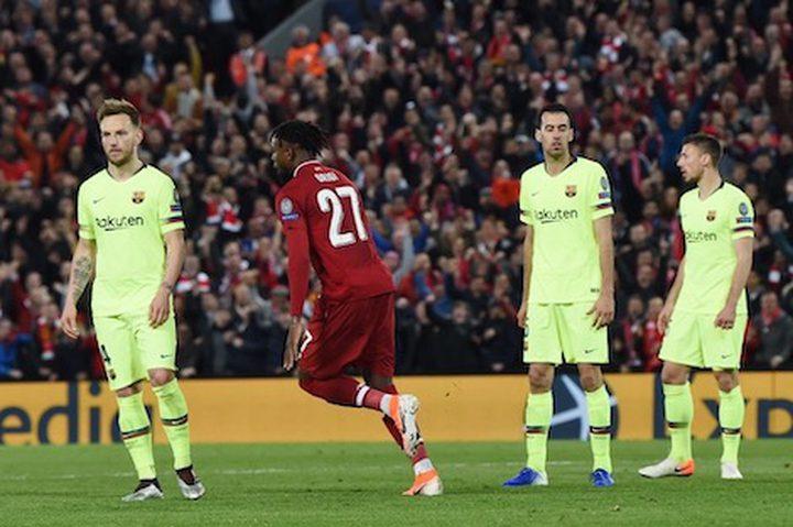 """نادي برشلونة يعود إلى """"كامب نو"""" بخيبة أوروبيّة"""