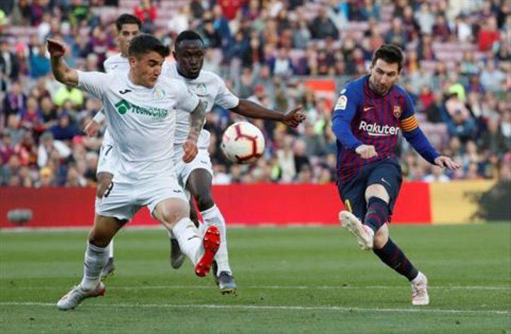 برشلونة يتجاوز خيتافي بثنائية والريال يسقط بثلاثية ضد سوسيداد