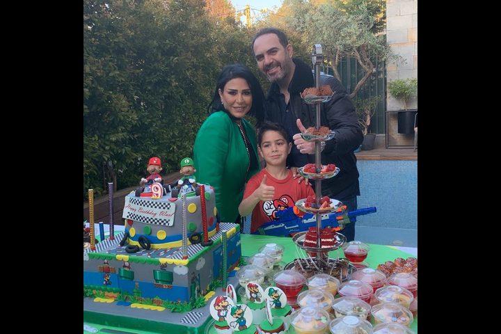 صور : وائل جسار يحتفل بعيد ميلاد ابنه.. فماذا قال؟