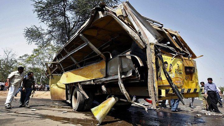 مصرع 15 شخصا بحادث سير جنوبي الهند
