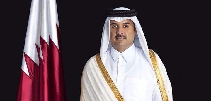 أمير قطر: موقفنا الداعم للقضية الفلسطينية ثابت