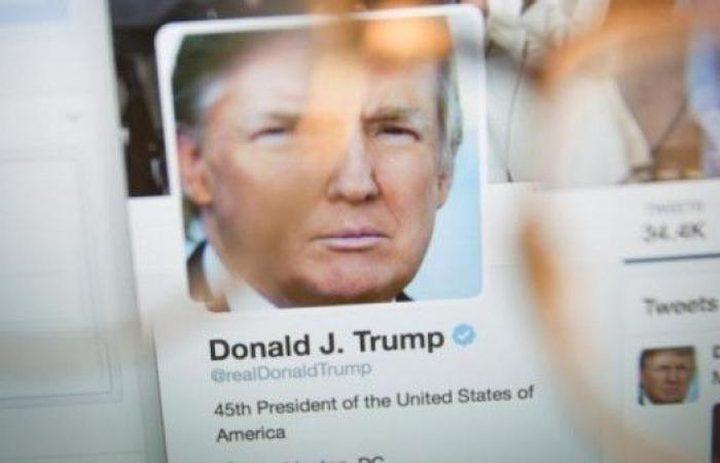 """فريق """"الهبد الإلكتروني"""" يستهدف صفحة الرئيس الأميركي دونالد ترامب"""