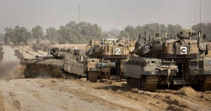 توغل محدود لآليات الاحتلال شمال ووسط قطاع غزة