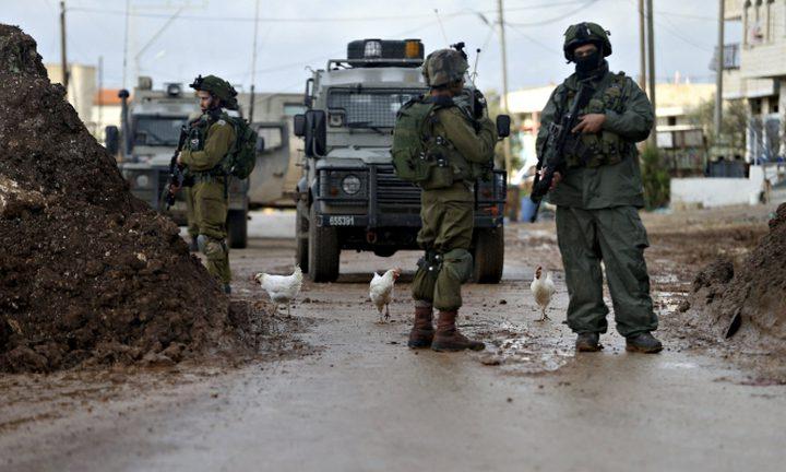 ثلاث إصابات واعتقال 5 شبان خلال اقتحام الاحتلال لمخيم جنين