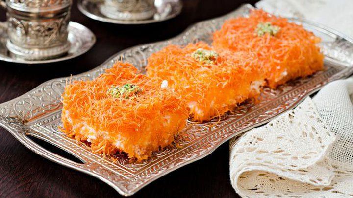 حلويات رمضانية: الكنافة بالقشطة