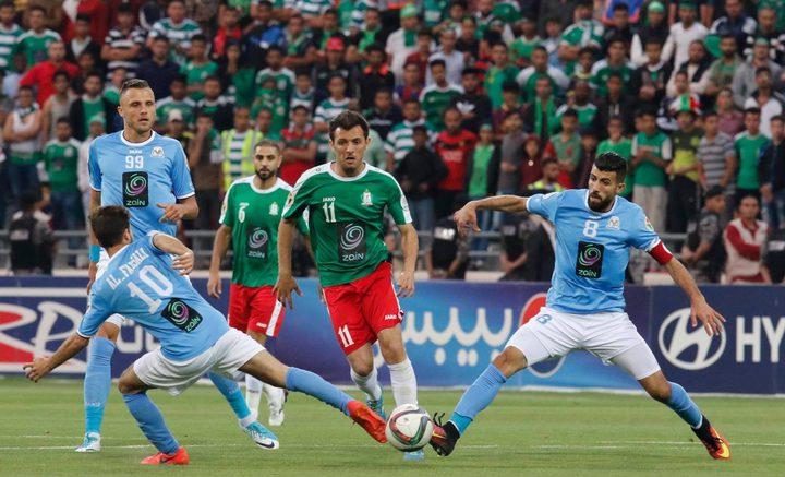 لمشاهدة مباراة فريقي هلال القدس والوحدات الأردني عبر موقع النجاح