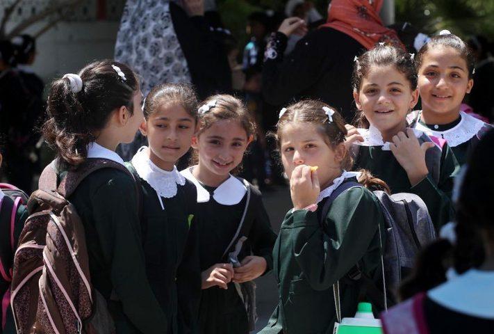 اضراب شامل في جميع مدارس قطاع غزة